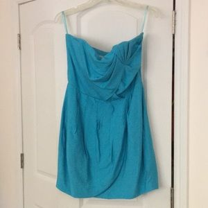 Rachel Rachel Roy Turquoise dress with pockets